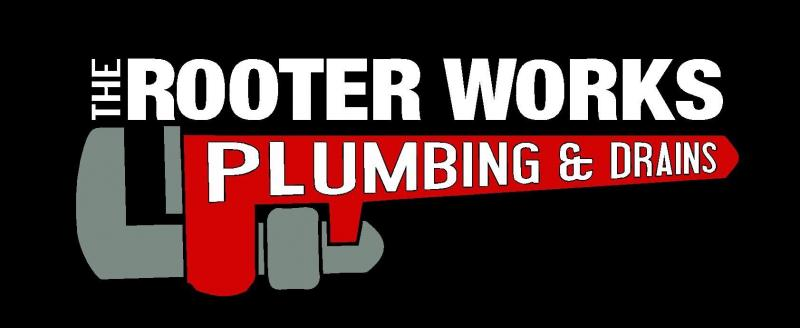 The Rooter Works Plumbing and Drains Logo